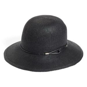 New Rag & Bone Devon Straw Down Brim Hat Medium
